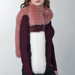 UNIQUE FUR SCARVES CREATED BY NATHALIE PARMENTIER